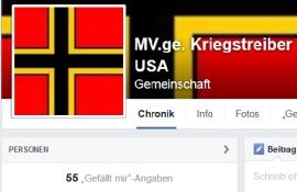 55 Menschen im MV sind gegen die Kriegstreiber USA © Screenshot